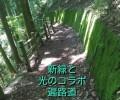 愛媛県久万高原町_遍路道